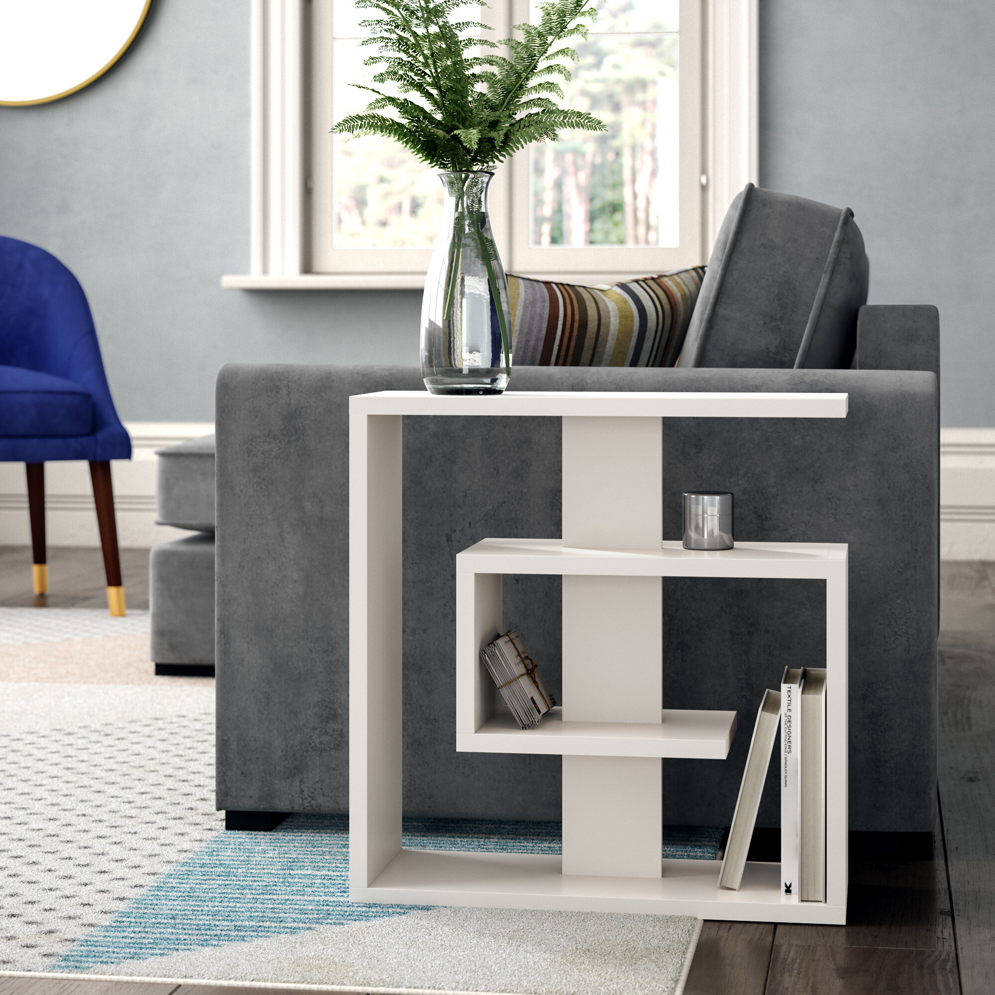 17 stories pauline side table with storage reviews wayfair co uk