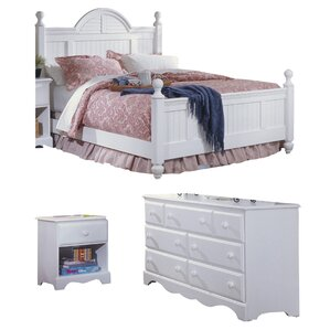 Delightful Kai Cottage Panel Configurable Bedroom Set