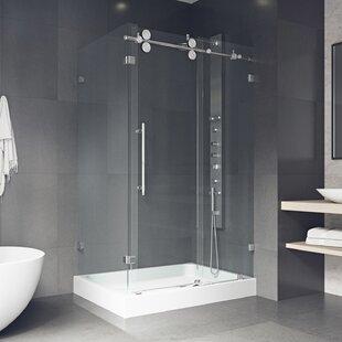 Sliding Door Shower Stalls U0026 Enclosures Youu0027ll Love | Wayfair