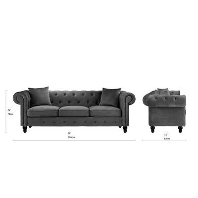 Ricker Chesterfield Sofa