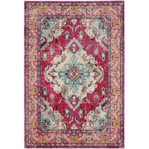 Elston Pink Area Rug
