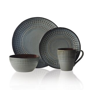 Bria 16 Piece Dinnerware Set  sc 1 st  Wayfair & Southwestern Style Dinnerware | Wayfair