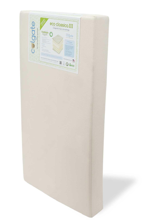 colgate eco classica iii dual firmness foam crib mattress reviews