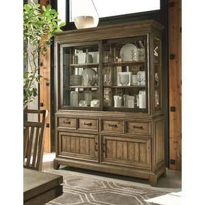 Brigadoon Lighted China Cabinet by Loon P..