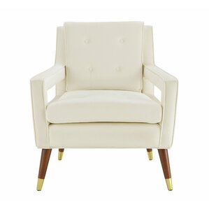 Nice Alverstone Velvet Armchair