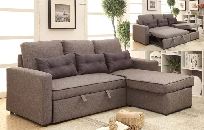 Sleeper Sectional Sofas You ll Love