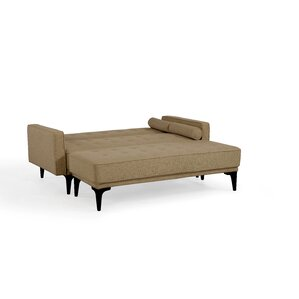 Back Forty Convertible Loveseat with Ottoman by Alcott Hill