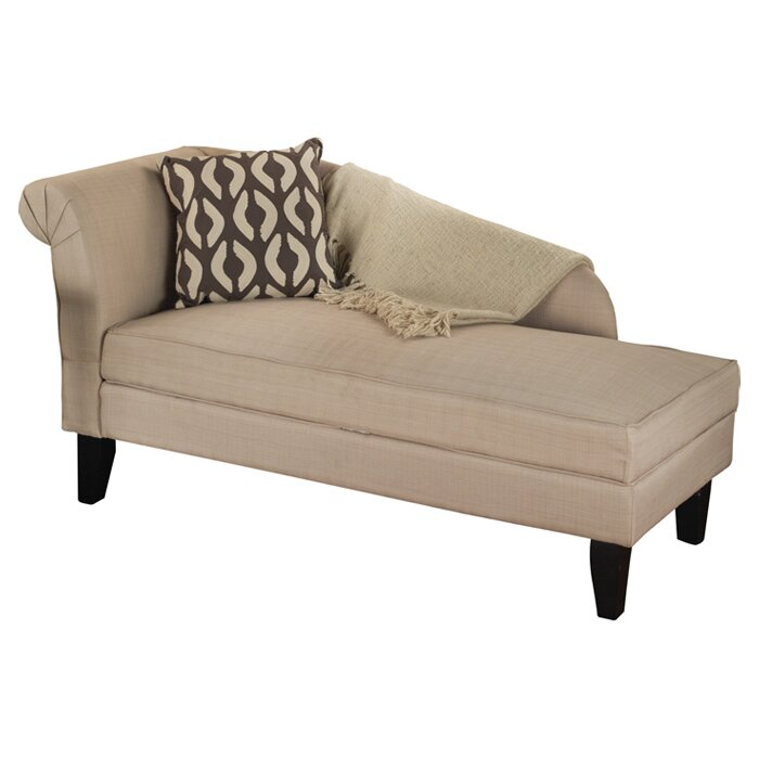 Tansie Upholstered Storage Chaise