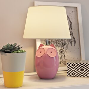 Owl Design 38cm Table Lamp