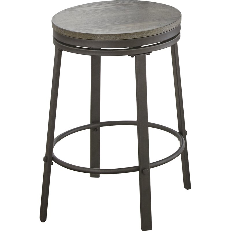 Leka 24 Swivel Bar Stool Reviews Joss Main