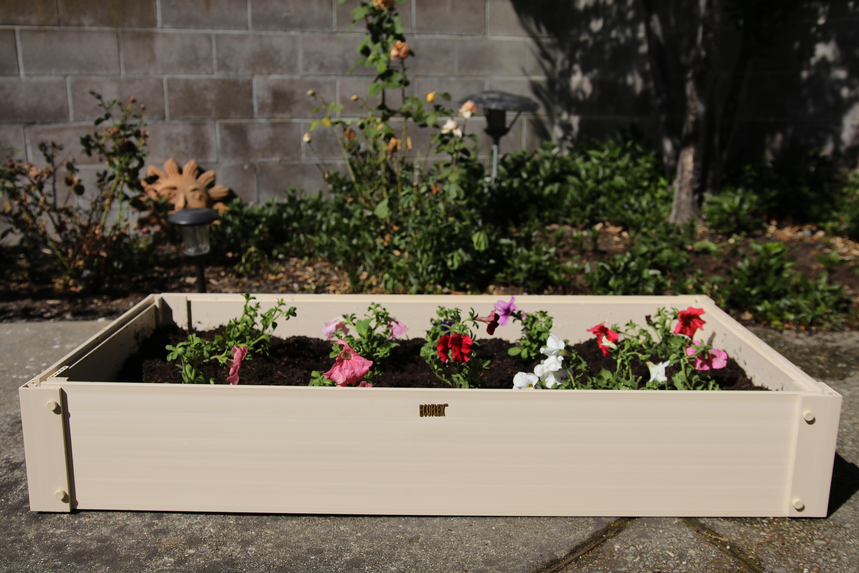 Perfect New Age Garden EcoFLEX Stackable 4 Ft Raised Garden | Wayfair