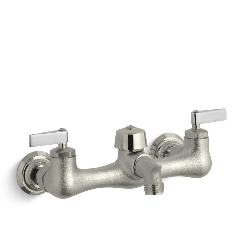 K-8905-CP,RP Kohler Knoxford Double Lever Handle Service Sink ...