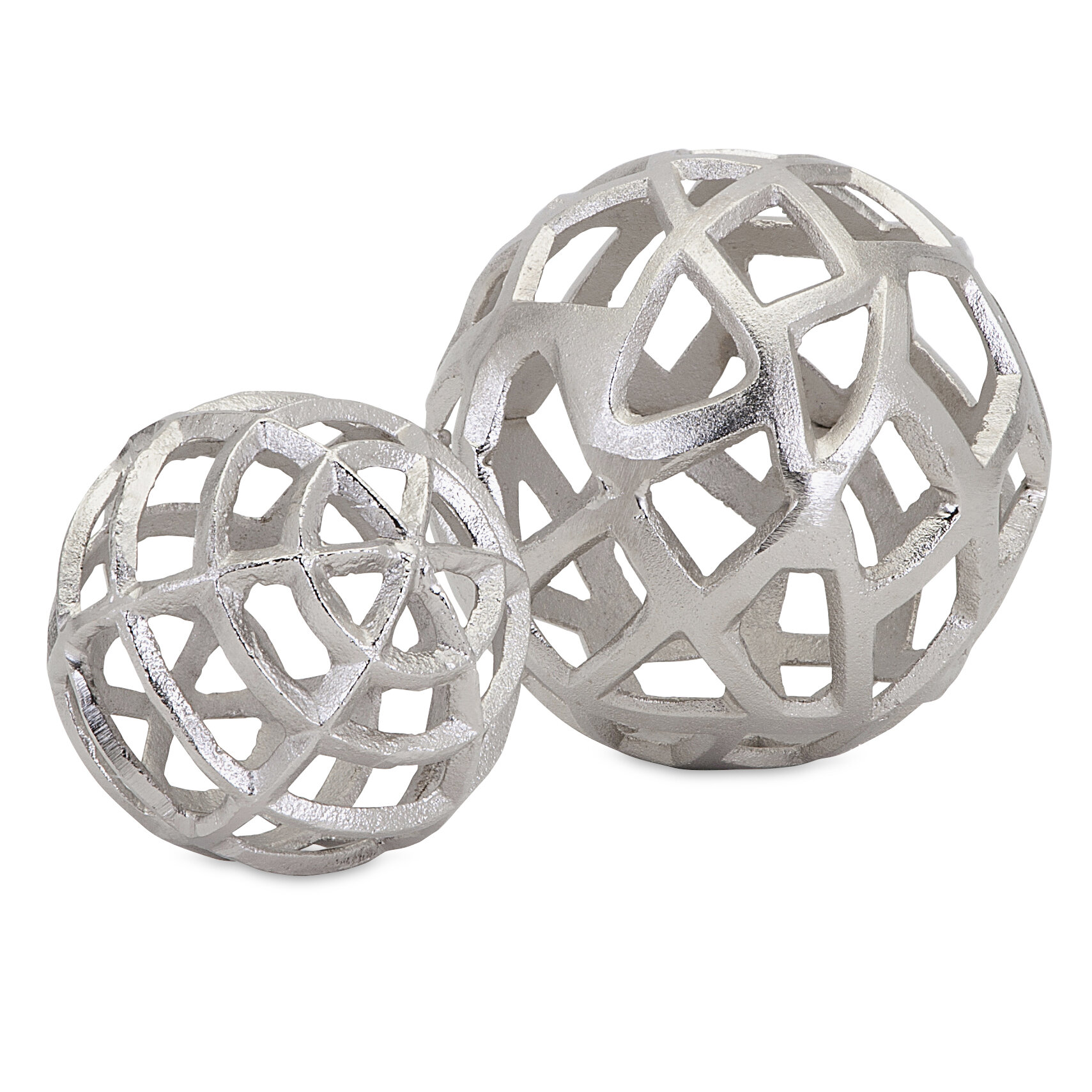 Trisha Yearwood Home Collection Outer Banks 2 Piece Sphere Sculpture ...
