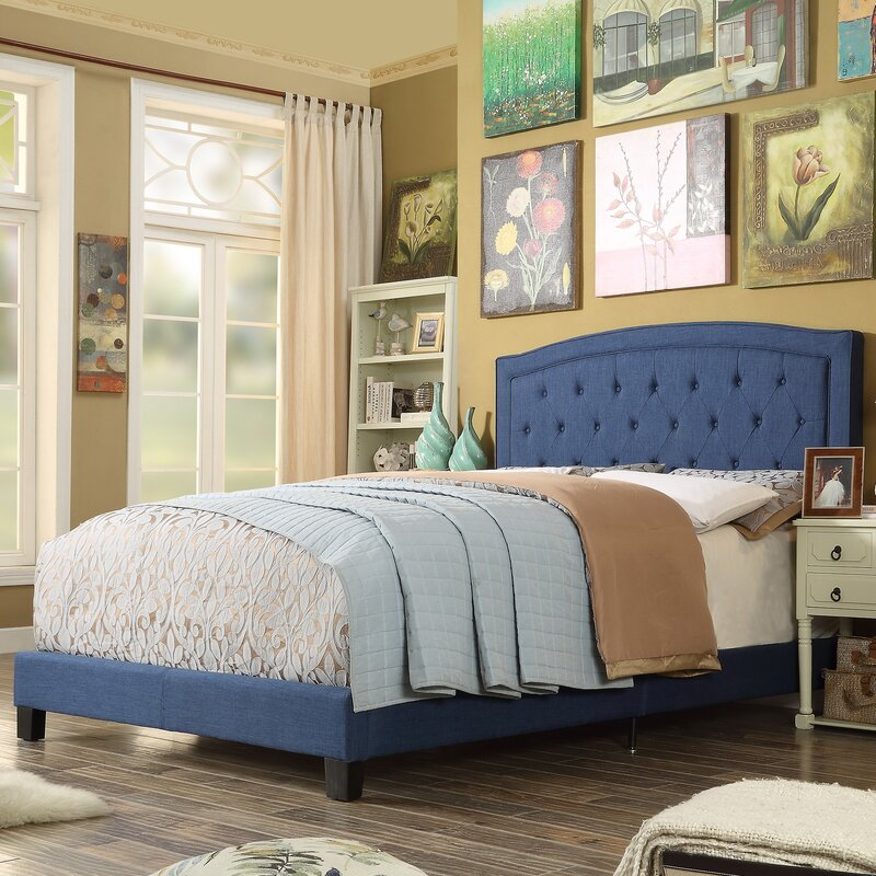 Mulhouse Furniture Gabriel Upholstered Panel Bed & Reviews