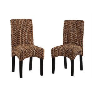 Gisselle Banana Weave Dining Chair (Set of 2)
