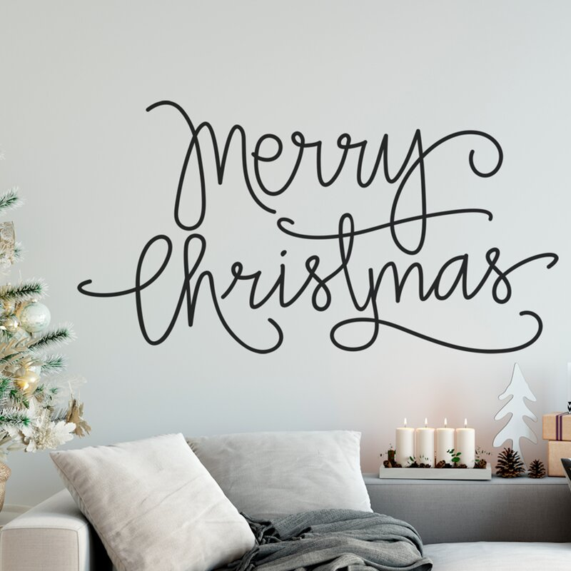Mery Christmas.Mery Christmas Wall Decal