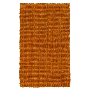 Hand-Woven Terracotta Area Rug by Jute&Co
