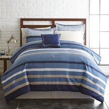 Oxford Reversible Comforter Set