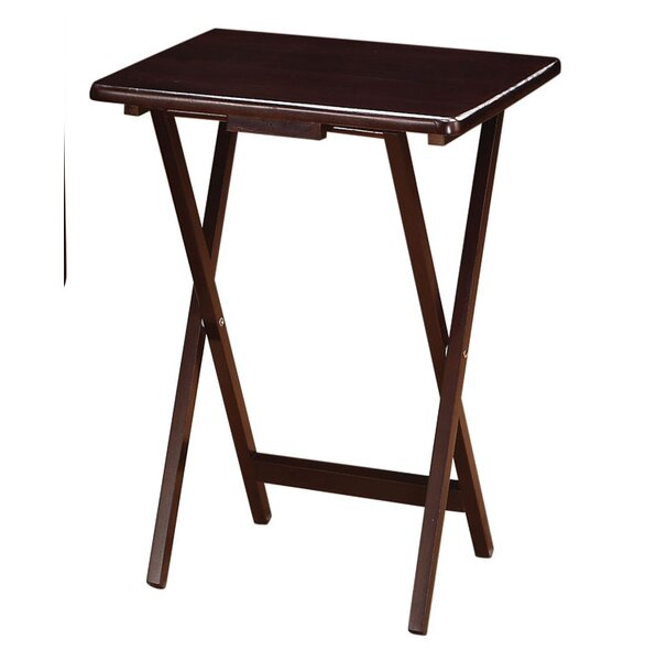 Wildon Home 174 5 Piece Tray Table Set Amp Reviews Wayfair