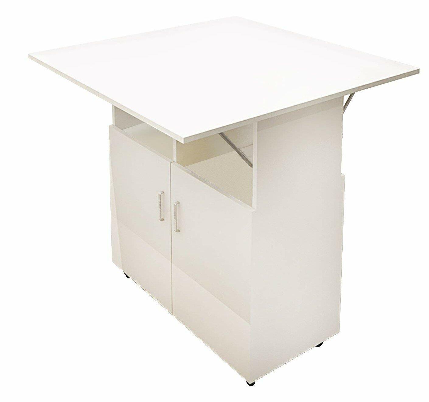Ebern Designs Caspian Foldable Dining Table & Reviews | Wayfair on