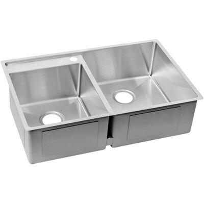 crosstown 33   x 21   double basin undermount kitchen sink elkay crosstown 26   x 19   undermount kitchen sink  u0026 reviews   wayfair  rh   wayfair com