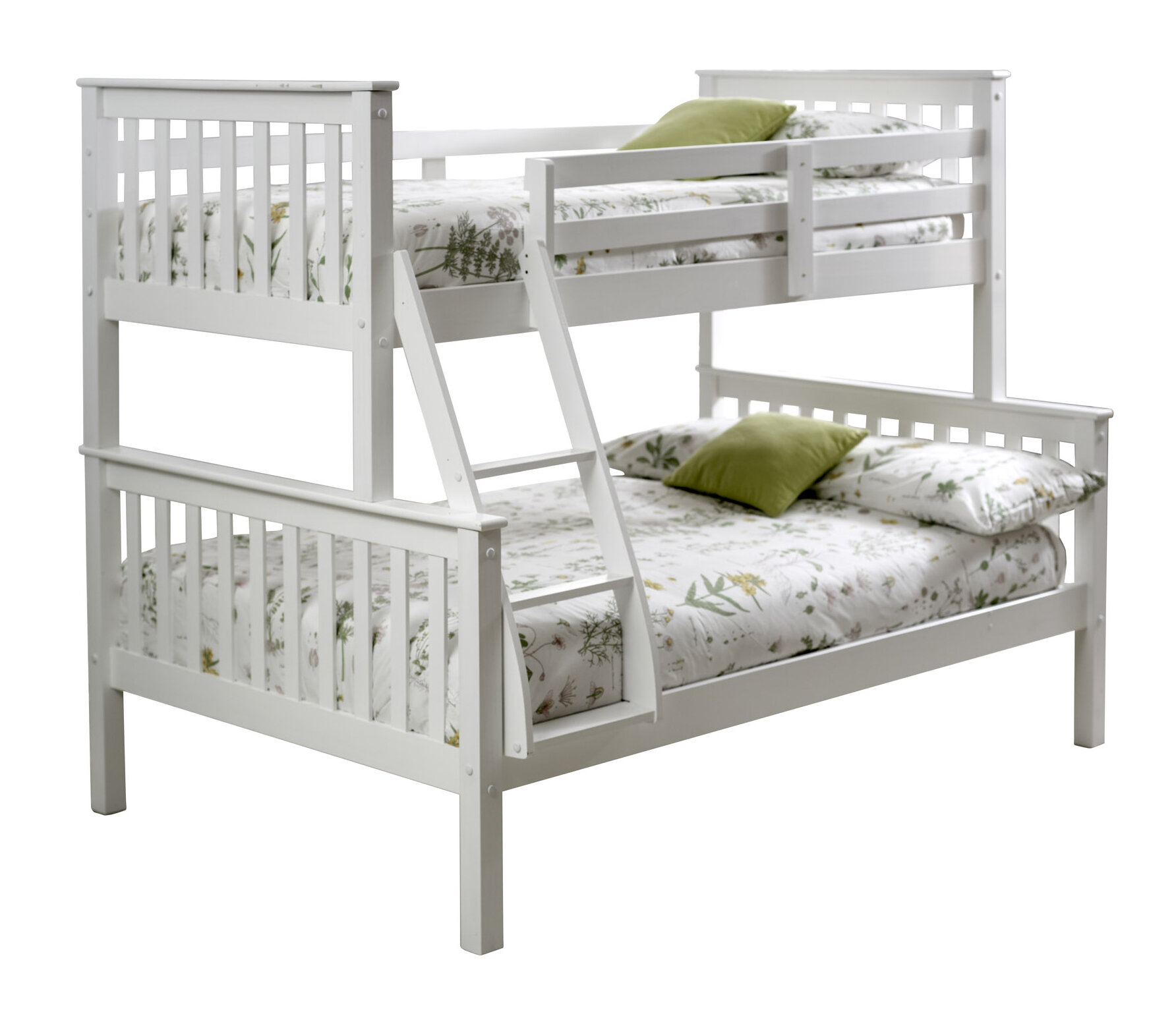 Just Kids Carra Triple Sleeper Bunk Bed With Mattresses Reviews