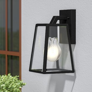 Outdoor wall lighting barn lights youll love wayfair sowders 1 light outdoor wall lantern aloadofball Image collections