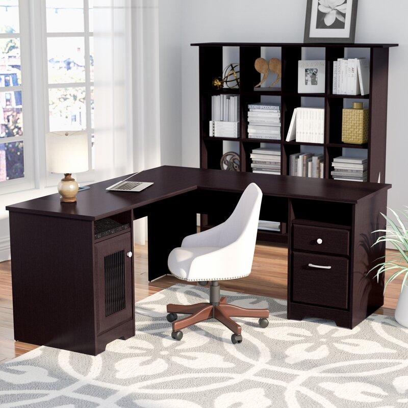 Hillsdale 2 Piece L Shape Desk Office Suite