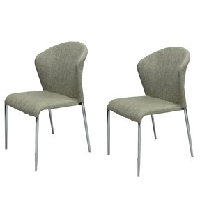 Kaci Upholstered Dining Chair (Set Of 2) Discount
