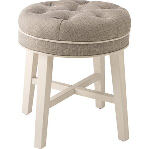 Grey Vanity Stools You\'ll Love | Wayfair