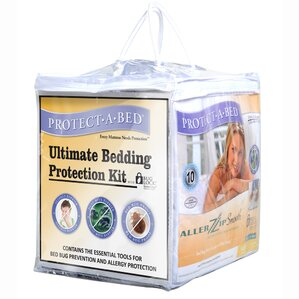 Ultimate/Bed Bug Hypoallergenic Waterproof Mattress Protector Kit by Protect-A-Bed