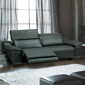 Dionne Electric Motion Genuine Leather Sofa ..