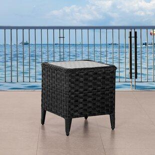 Patio Wicker Side Table Wayfair