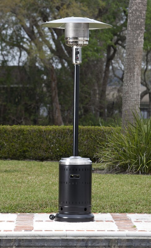 Charming Hammer Tone U0026 Stainless Steel Commercial 46,000 BTU Propane Patio Heater
