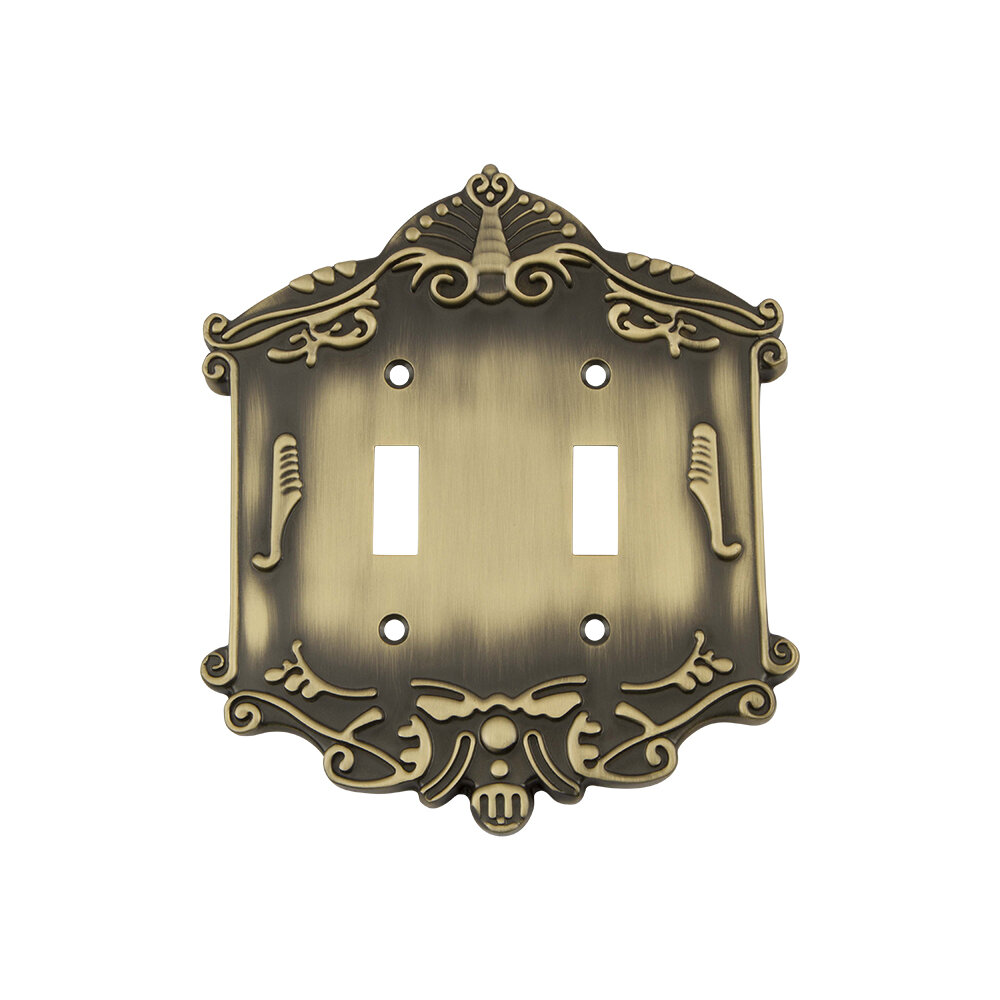 Nostalgic Warehouse Victorian 2 Gang Toggle Light Switch Wall Plate Wayfair