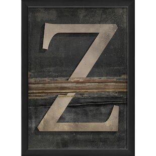 Large Metal Letter Z Large Metal Letter Z  Wayfair