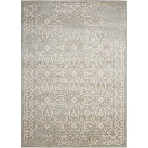 Angelique Gray and Ivory Area Rug