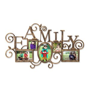Danille 5 Opening Picture Frame