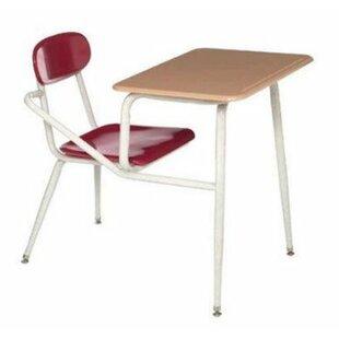 Plastic 37  Combination Desk  sc 1 st  Wayfair & Chair Combo Desks Youu0027ll Love | Wayfair