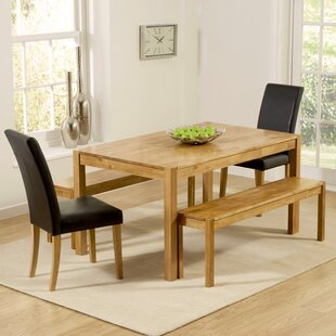 Cambridge Dining Set With 2 Chairs And 2 Benches
