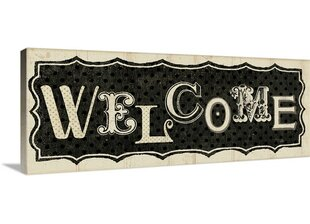 U0027Room Signs IV   Welcome Graphic Art Print