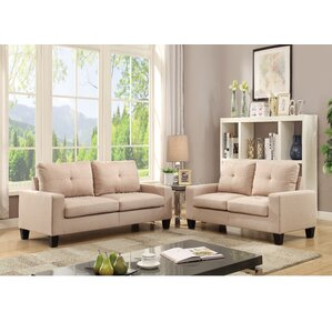 Platinum II 2 Piece Living Room Set by ACME Furniture