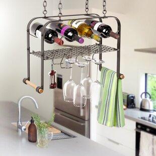 4 Bottle Hanging Wine Rack