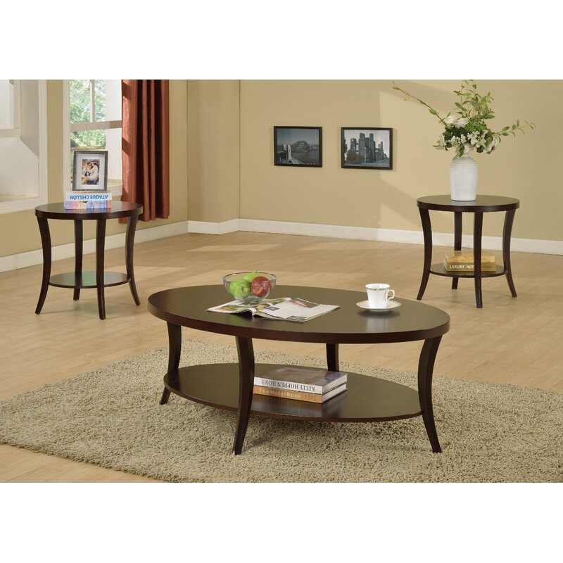 3 Piece Coffee Table Set 9