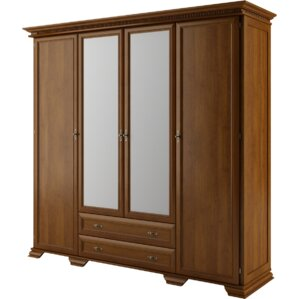 Melanson 4 Doors Armoire by Three Posts