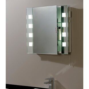 Endon 2017 60cm X 65cm Surface Mount Mirror Cabinet