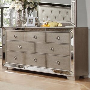 Chesmore 8 Drawer Dresser by BestMasterFurniture