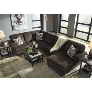 Charlton Home Ellicottville U-Shaped Sectional