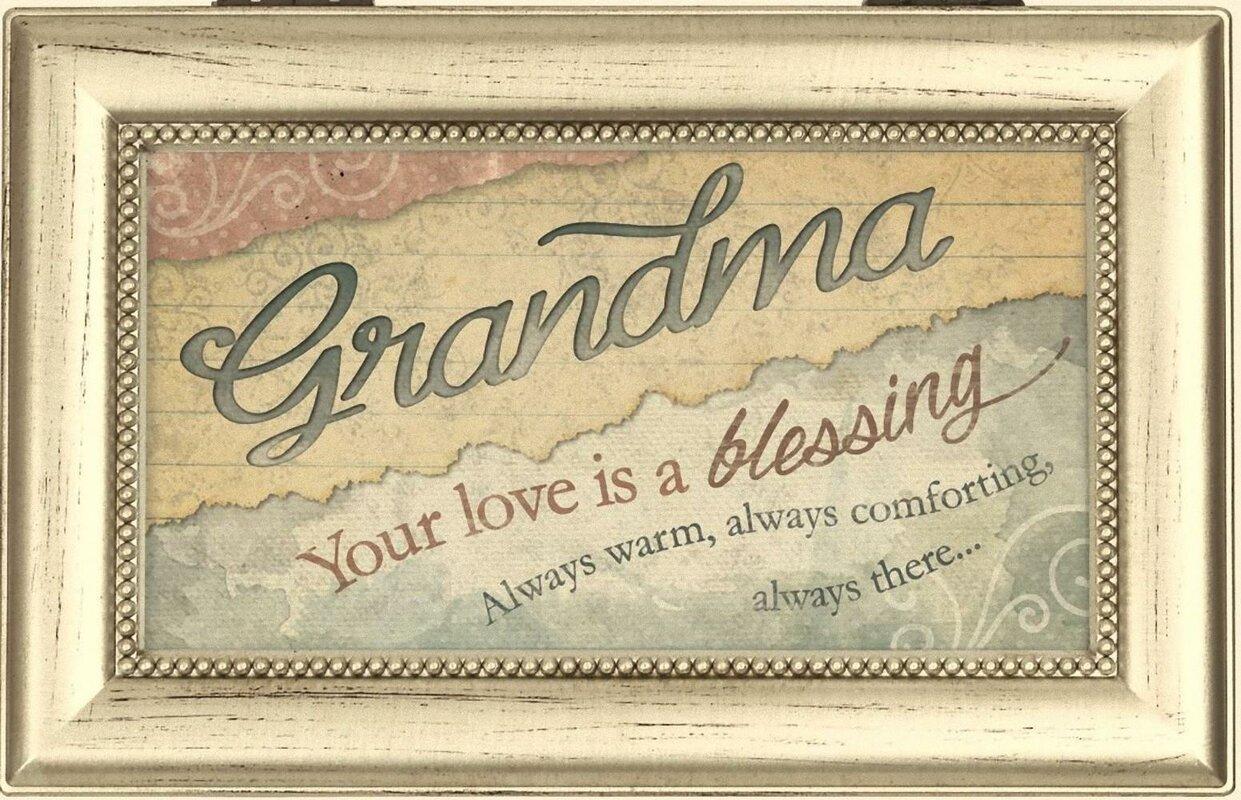 Carson Home Decorative Love Grandma Music Box & Reviews | Wayfair