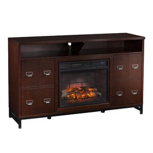 Yadhu Infrared Media Stand Electric Fireplace by Gracie Oaks
